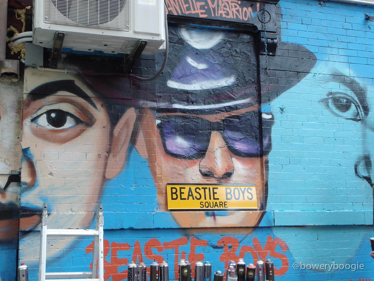 There is a new beastie boys mural at ludlow and rivington for Beastie boys mural