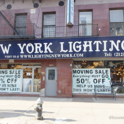 Bowery Lighting District Contracts As