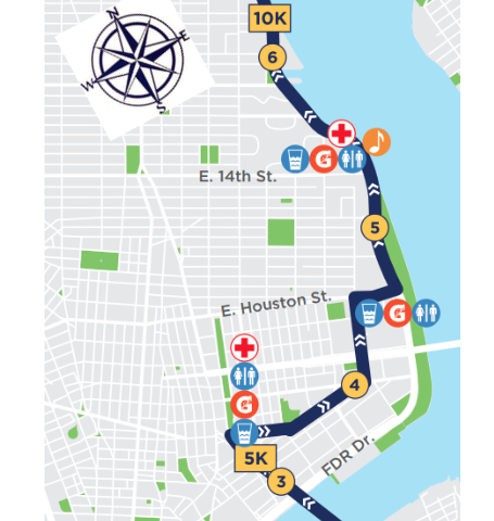 Map Of New York Half Marathon.More Than 20 000 Runners Expected To Run Through The Les For 2018