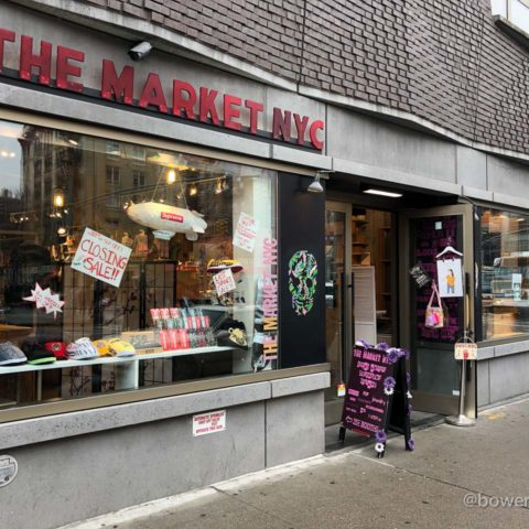 The Market NYC is Moving from Mulberry Street Condo Building