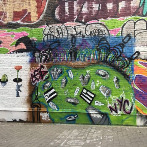 Open Call for Muralists to Decorate First Street Green Art Park