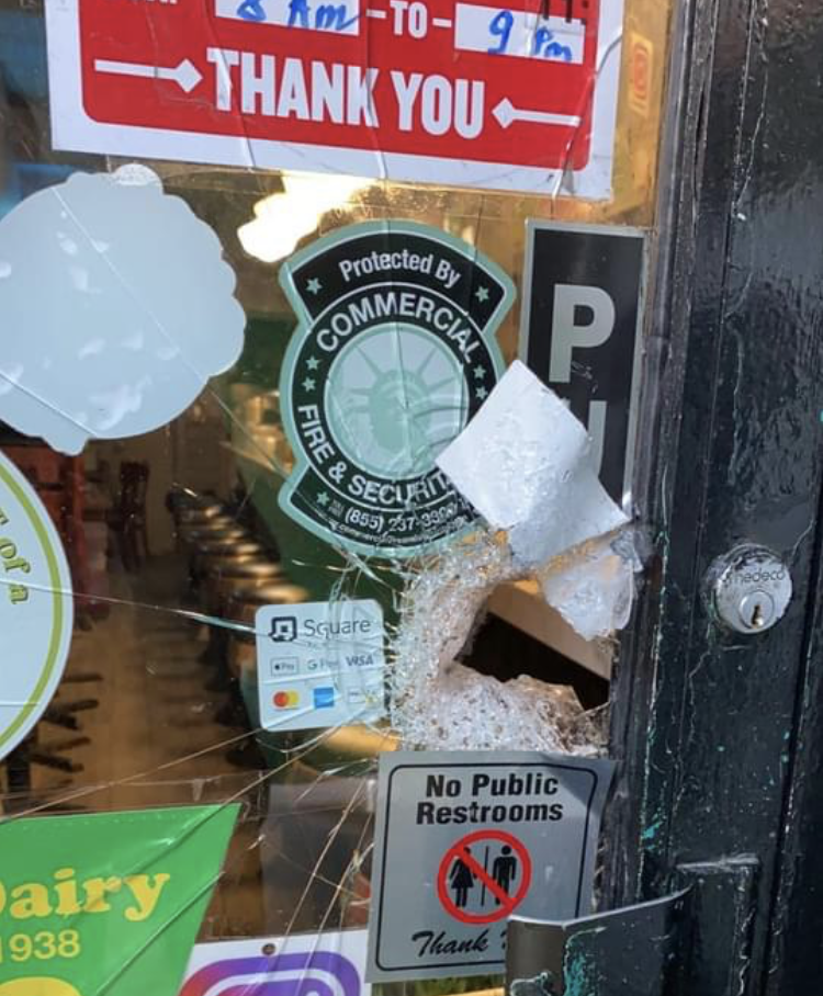 B&H Dairy Robbed